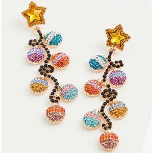 🆕Torrid Christmas Ornament Statement Earrings NWT